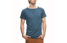 Houdini Men&#039;s Airborn T-shirt thunderbird/gris oxyd